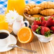 Continental breakfast — Stock Photo #29117667