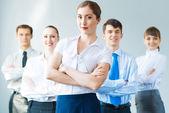 Concept of teamwork — Stock Photo