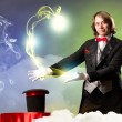 Magician — Stock Photo