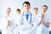 Successful doctor — Stock Photo