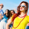 Stylish young woman in sunglasses — Stock Photo #31890497