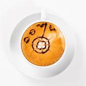 Stor kopp kaffe — Stockfoto