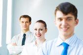 Empresários de sucesso — Fotografia Stock