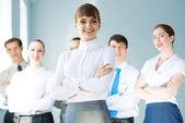 Conceito de trabalho em equipe — Foto Stock