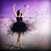 Mulher dançando — Fotografia Stock