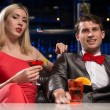 Stock Photo: Couple in nightclub