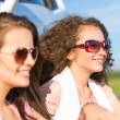 Stock Photo: Women in sunglasses