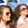 Stock Photo: Women wearing sunglasses