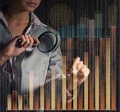 : kobieta biznesu — Zdjęcie stockowe