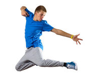 Young man dancer — Foto Stock