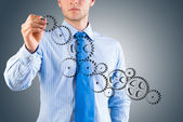 Successful business concept — Stock Photo