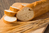 Sliced bread with cereals — Stock Photo