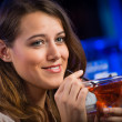 Young womin bar — Stock Photo #40206727