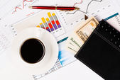 Business stilleben — Stockfoto