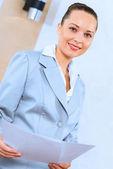 成功的商业女子肖像 — 图库照片