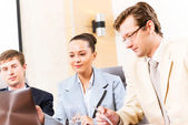 Business-Meeting — Stockfoto