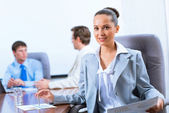 Portrait of a successful business woman — Stockfoto