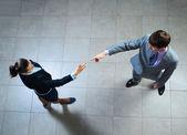 Due uomini d'affari — Foto Stock