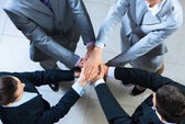 Symbol of teamwork — Stock Photo