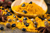 Close-up of Asian spices — Stock Photo