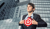 Alvo de empresário — Foto Stock