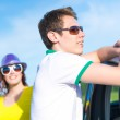 Young man in sunglasses — Stock Photo #49325761