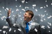 Aggressive management — Stock Photo