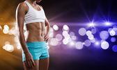 Fitness girl — Foto de Stock