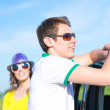 Young man in sunglasses — Stock Photo #50703547
