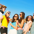 Group of young people hugging — Stock Photo #50706673