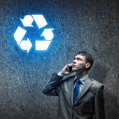 Recycling concept — Stock Photo