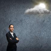 Falen in het bedrijfsleven — Stockfoto