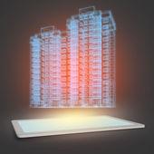 Model of building — Stock Photo