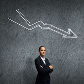 Failure in business — Stock Photo