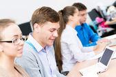 Students in the classroom — Foto de Stock