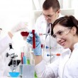 Portrait of a group of chemists — Stock Photo #9702094