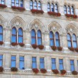 Stock Photo: Facade of ViennCity Hall, Austria