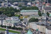 View over salzburg, austria — Stock Photo