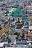 View over central part of Vienna, Austria — Stock Photo