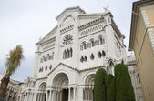 Cathedral of Monte Carlo, Monaco — Stock Photo