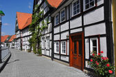 German half-timbered houses — Stock Photo