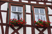 Half-timbered fachwerkhaus in germany — 图库照片