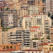 Houses of monte carlo, monaco - Stock Photo