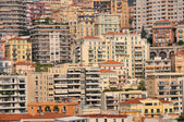 Houses of monte carlo, monaco — Stock Photo