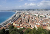 View over nice, cote d — Stock Photo