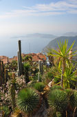 View over Eze, Cote d'azur — Stock Photo