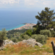 Landscape on greek island samos — Stock Photo