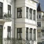 Resort architecture on Rügen, Northern Germany — Stock Photo #31222323