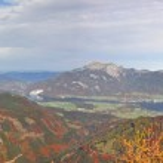 Alpine panorama - austrian scenery — Stock Photo