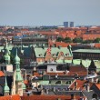 View over the roofs of copenhagen, denmark — Stock Photo